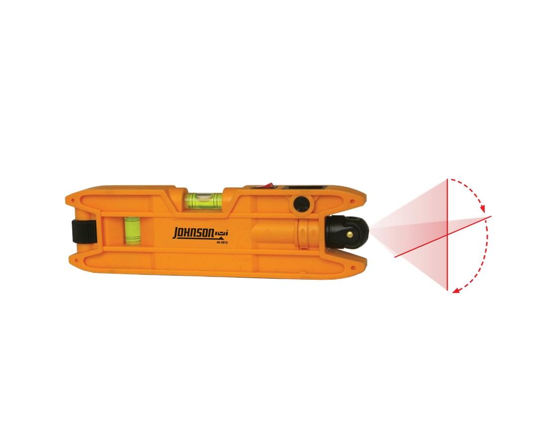Johnson Hot Shot Magnetic Torpedo Laser Level Model 40-0915