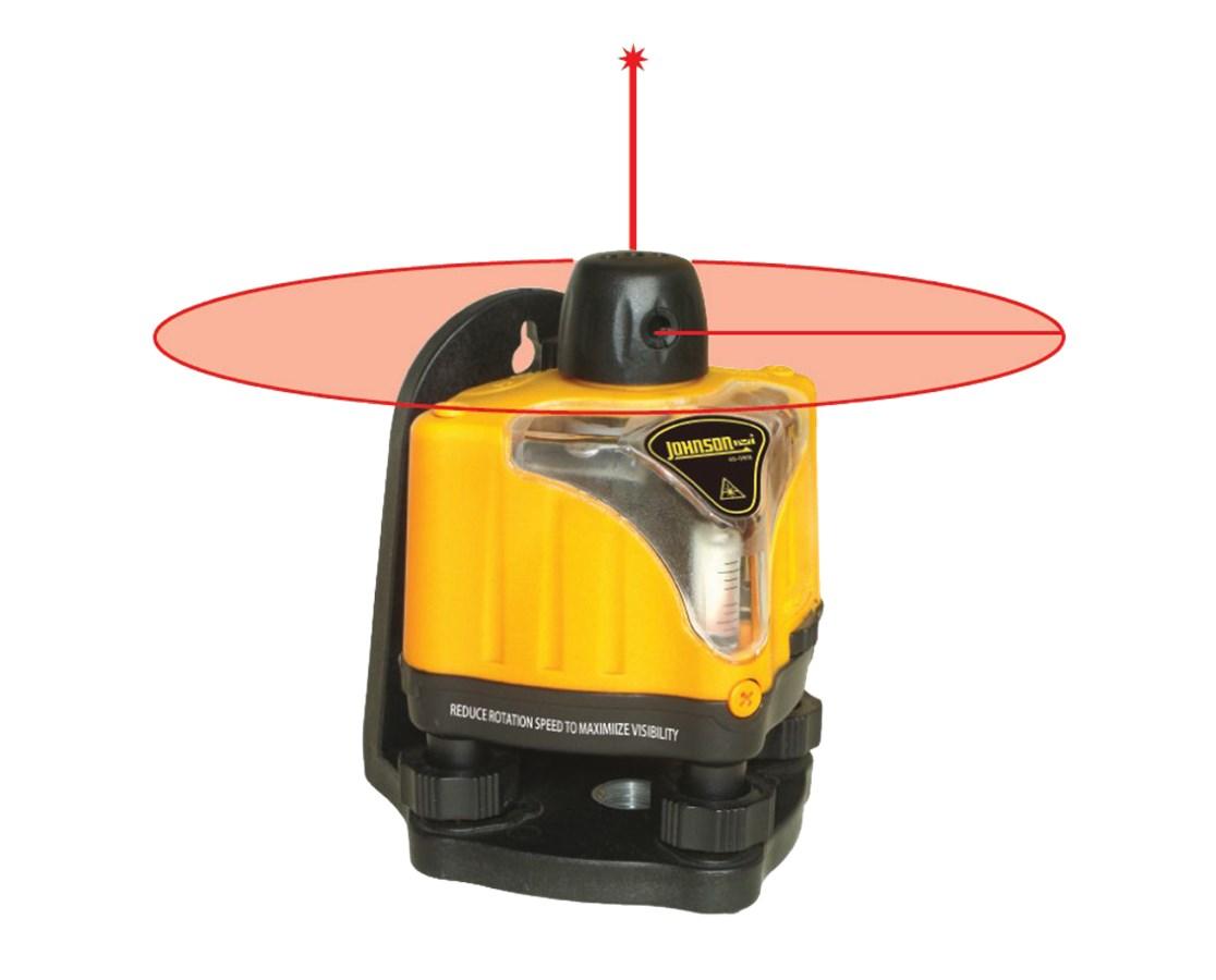 Johnson Level Manual Leveling Rotary Laser Level 40-0918