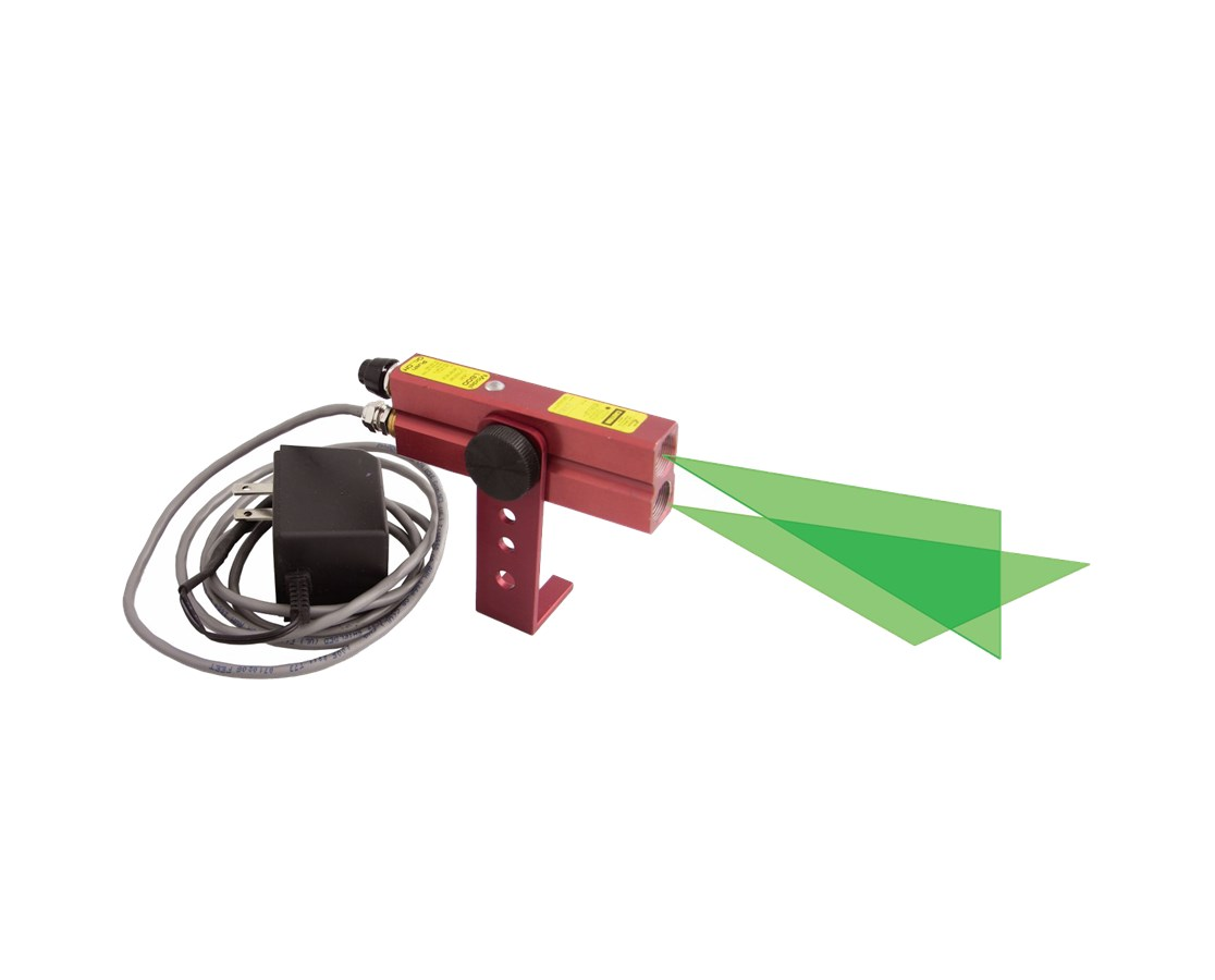 Johnson Level Industrial Alignment Cross-Line Laser Level with GreenBrite Technology JOH40-6232