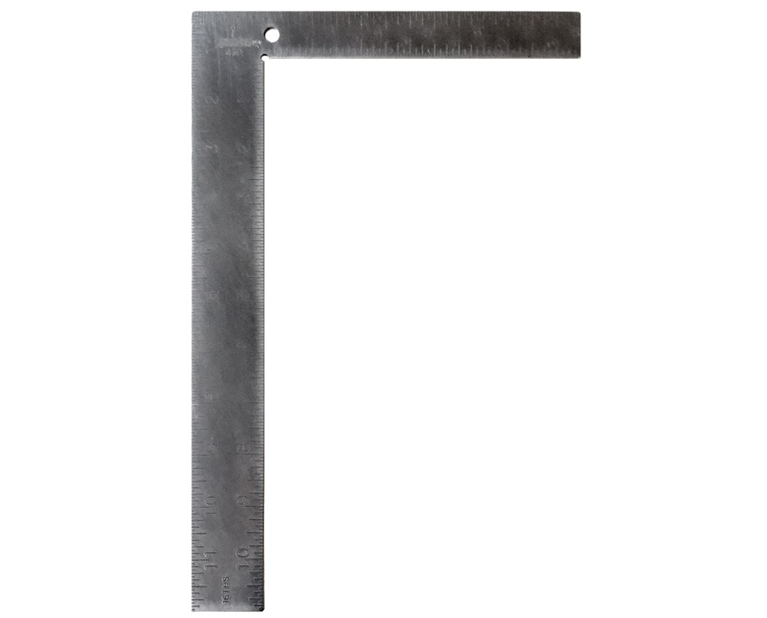 "Johnson Level 8"" x 12"" Steel Carpenter Square JOH430"