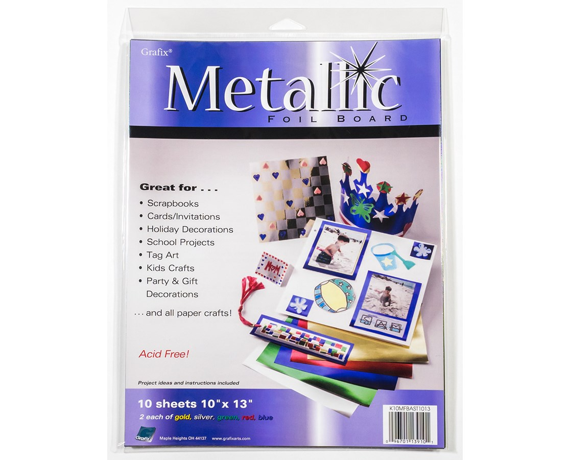 GRAFIX® Metallic Foil Board K102535