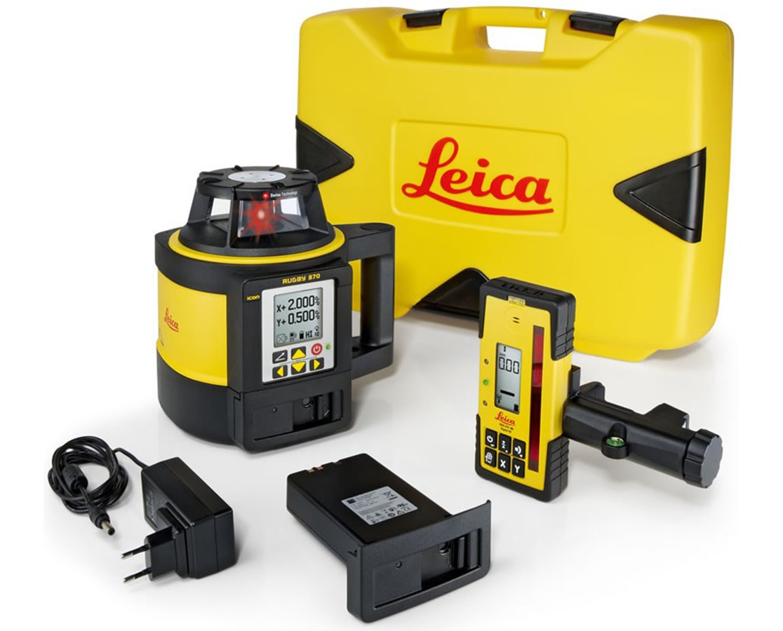 Leica Rugby 870 Rotary Laser Level LEI6006026