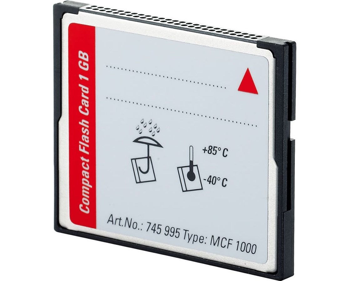Leica MCF1000 Industrial-Grade 1GB CompactFlash Card LEI745995