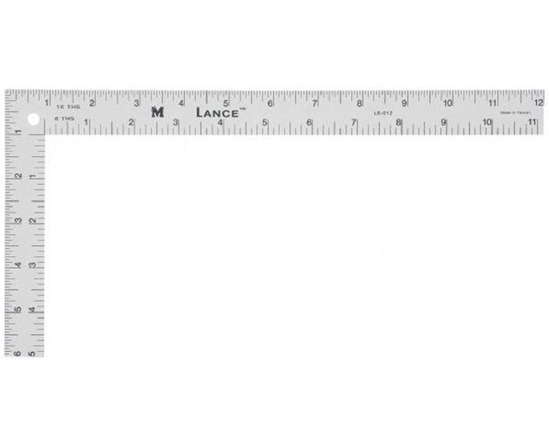 LANCE® Mini Aluminum L-Square LS102
