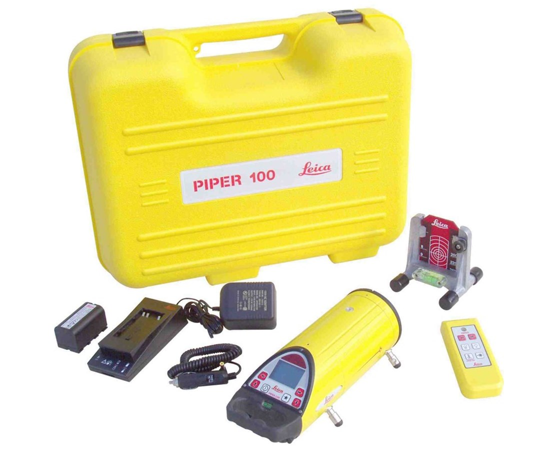 Leica Piper 100 Pipe Laser Kit 748704