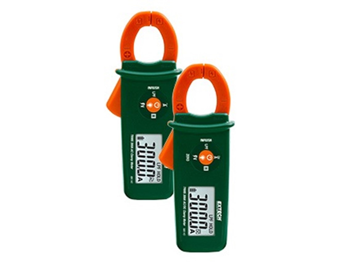 Extech True RMS 300A Mini Clamp Meters + NCV MA140-