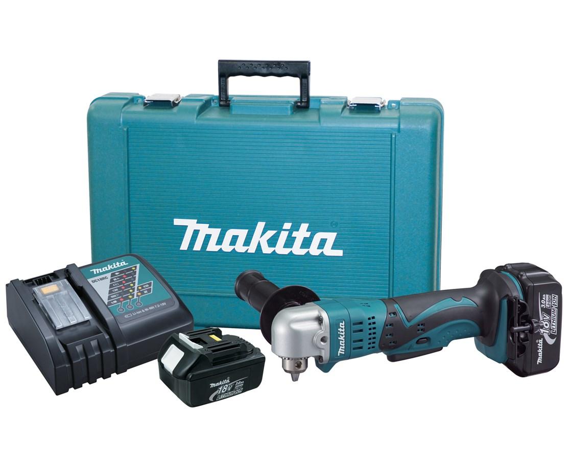 "Makita BDA350 18V LXT Lithium-Ion Cordless 3/8"" Angle Drill Kit MAKBDA350"