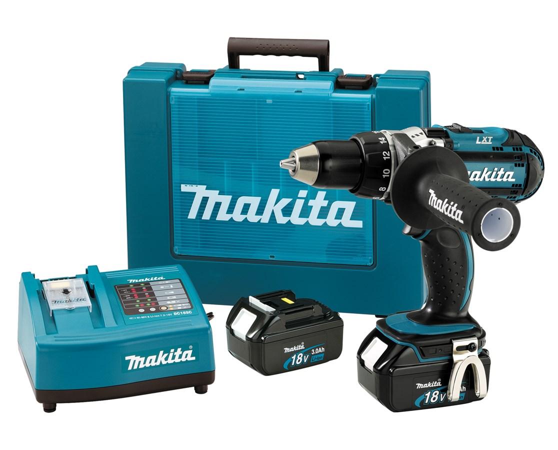"""Makita BDF451 18V LXT Lithium-Ion Cordless 1/2"""" Driver-Drill Kit MAKBDF451"""