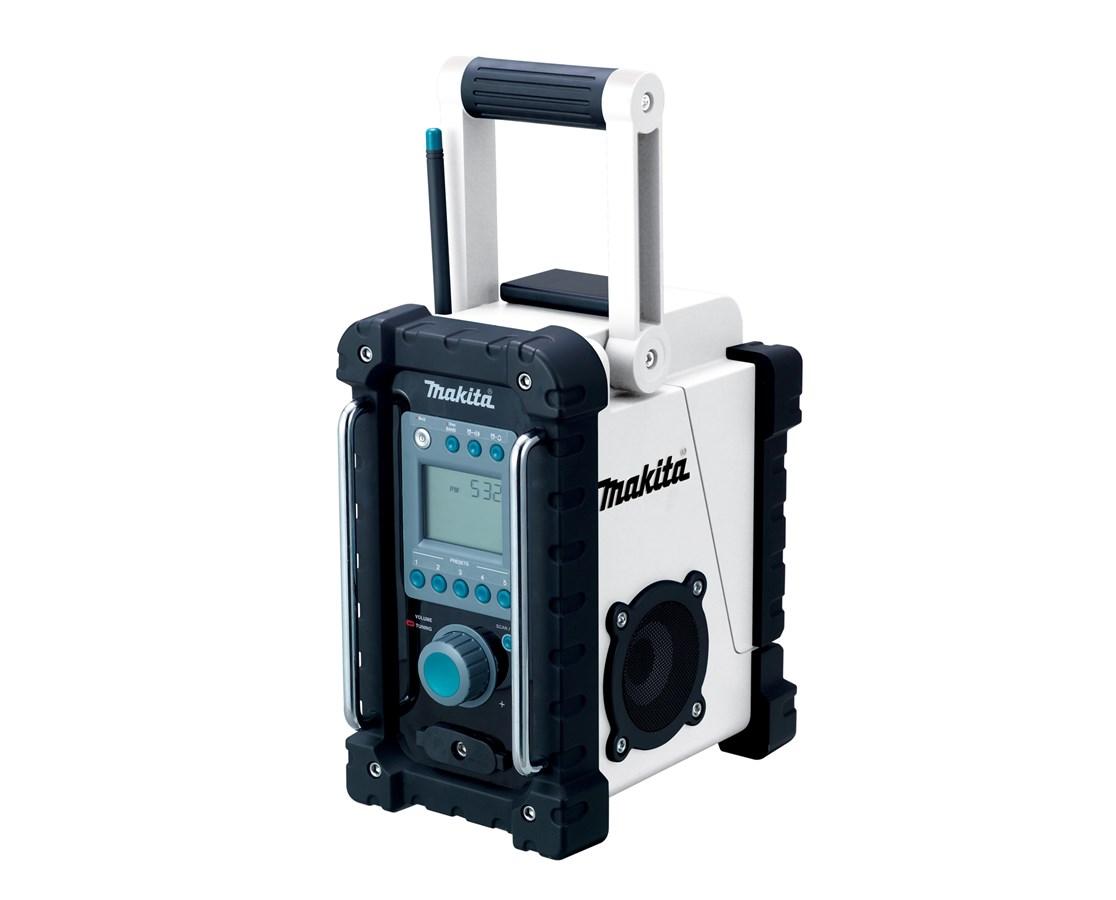 Makita BMR100W 18V LXT Lithium-Ion Cordless FM/AM Job Site Radio (Tool Only) MAK
