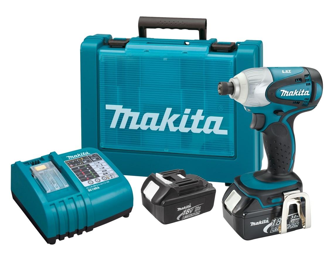 Makita BTD141 18V LXT Lithium-Ion Cordless Impact Driver Kit MAKBTD141
