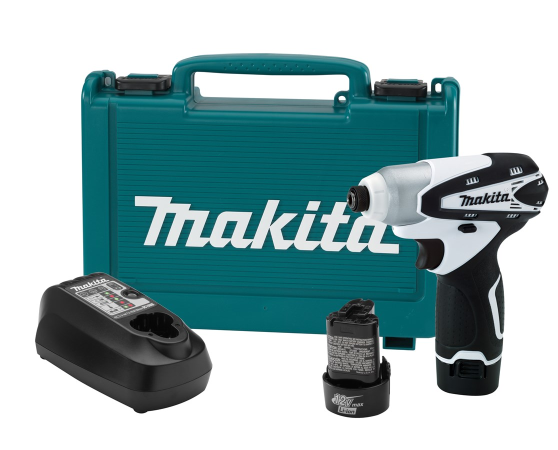 Makita DT01W 12V max Lithium-Ion Cordless Impact Driver Kit MAKDT01W