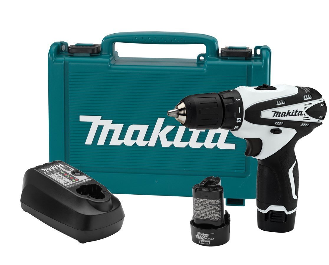 makita fd02w 12v max lithium ion cordless 3 8in driver drill kit tiger supplies. Black Bedroom Furniture Sets. Home Design Ideas