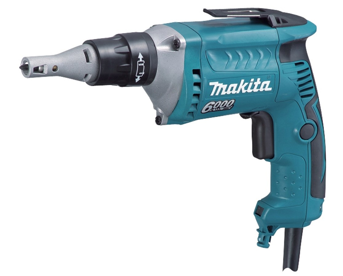 Makita Drywall Screwdriver; 6,000 RPM, Variable Speed, Reversible with L.E.D. Light MAKFS6200-