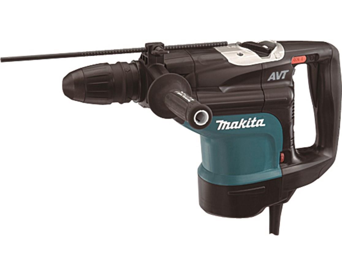 "Makita HR4510C 1-3/4"" AVT Rotary Hammer; SDS-MAX Bits MAKHR4510C"