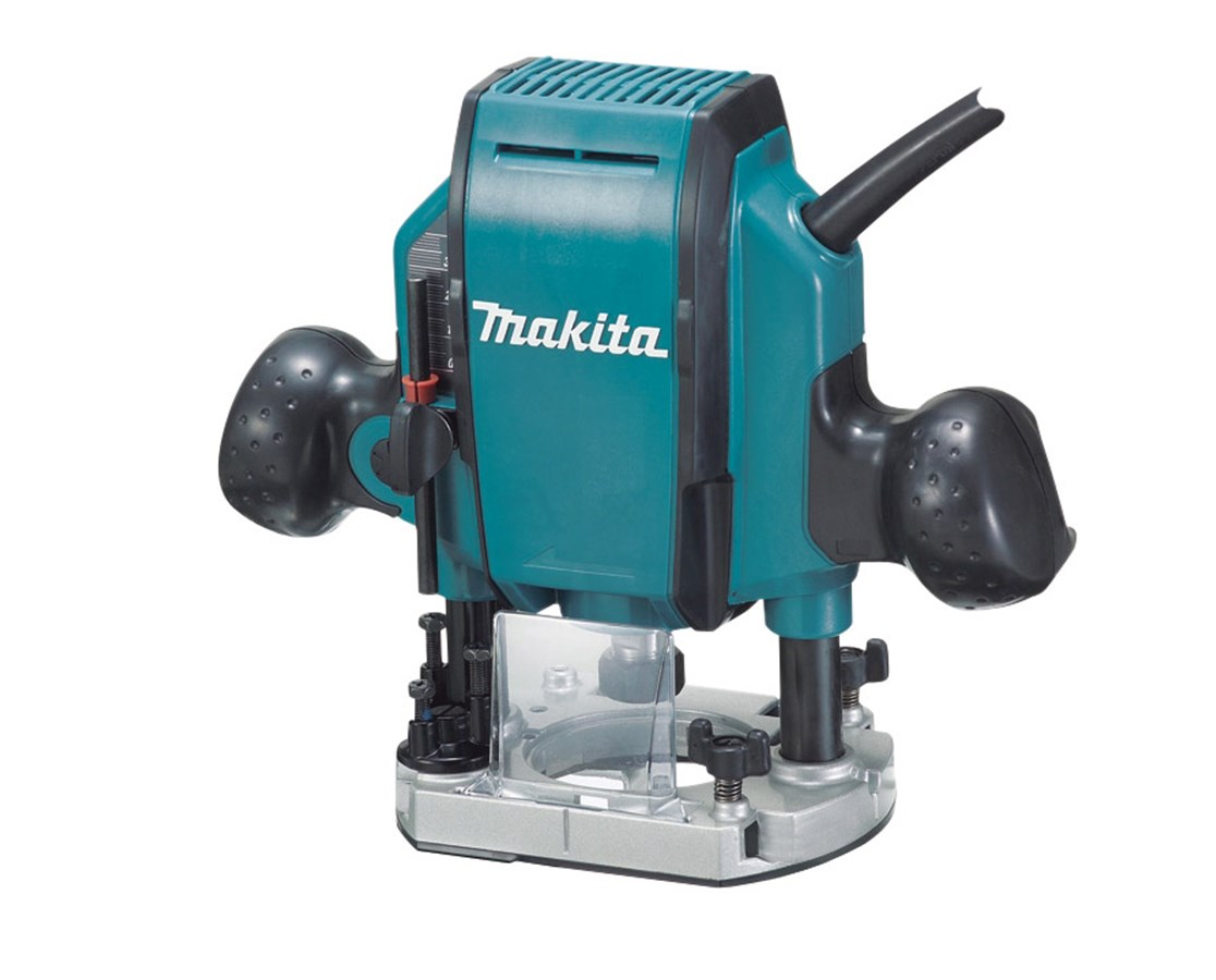 Makita RP0900K 1-1/4 HP Plunge Router 27,000 RPM with Case MAKRP0900K