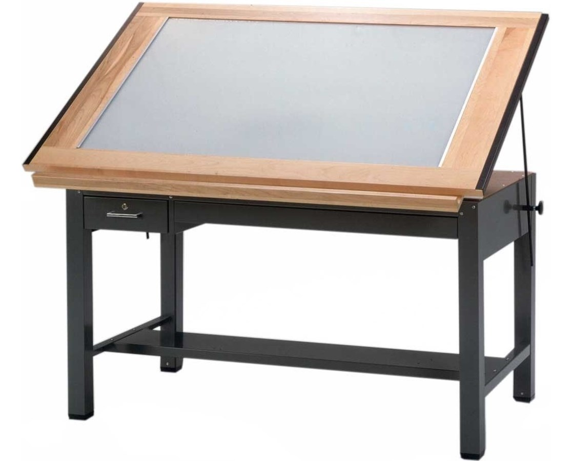 Mayline Ranger Four Post Light Table MAY7734