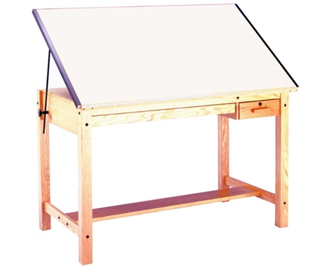 Mayline Ranger Drafting Table with Tool and Shallow Drawers 7706B