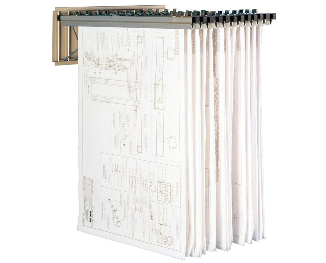 MAYLINE Pivot Wall Rack 9309H