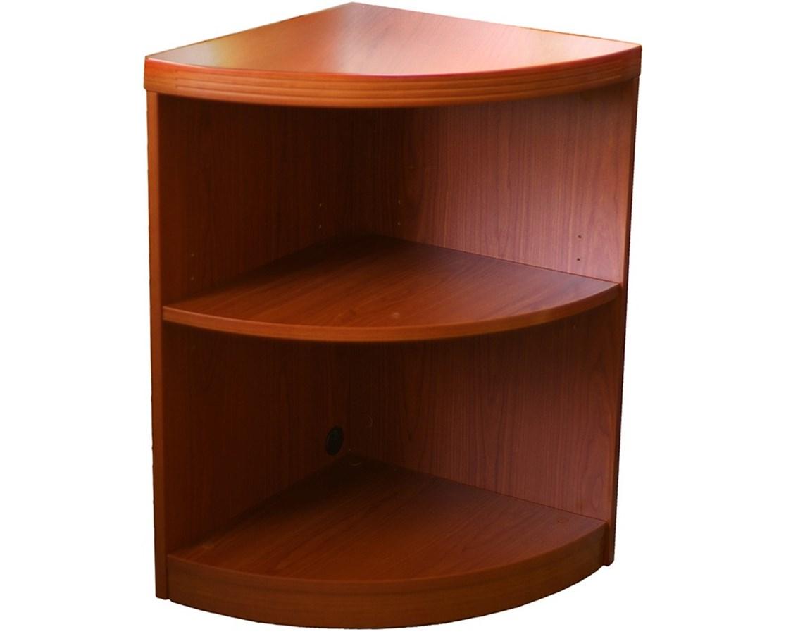 Mayline Aberdeen Series Two-Shelf Quarter Round Bookcase MAYABQ2