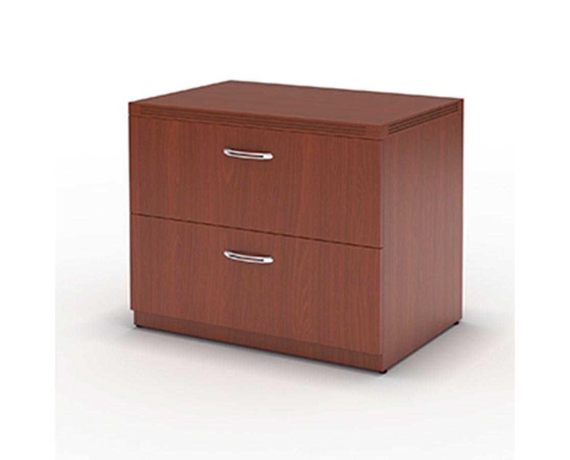 "Aberdeen Series 36"" Freestanding Lateral File Cherry Tf Laminate MAYAFLF36LCR"