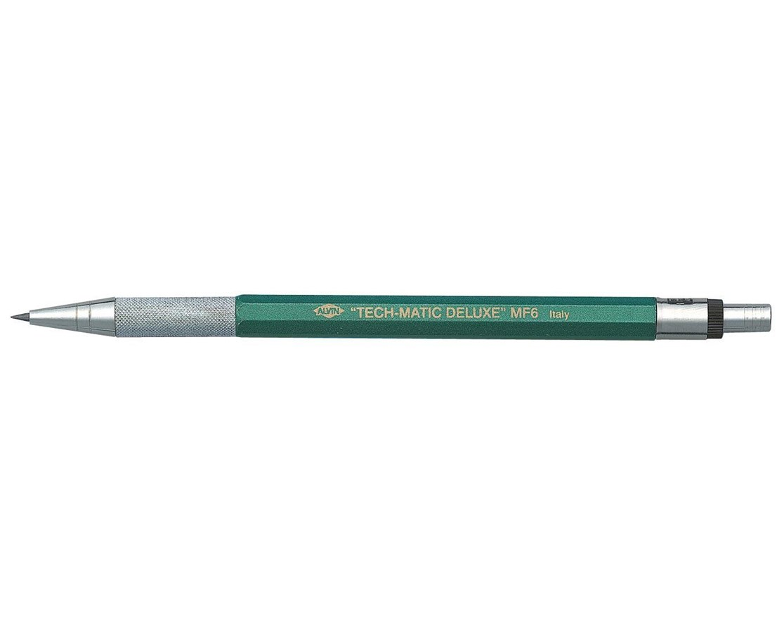 Alvin Tech Matic Deluxe Lead Holder Mf6 Tiger Supplies