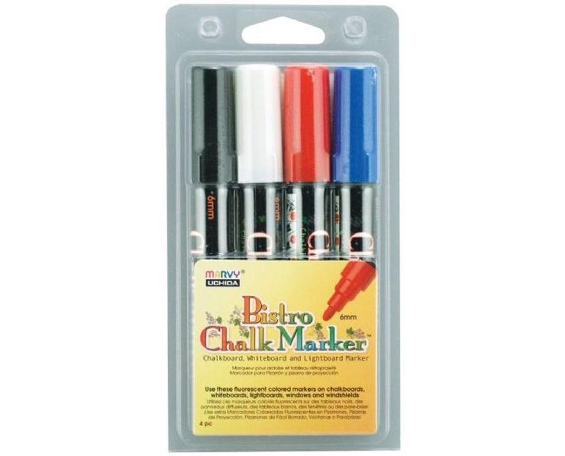 MARVY® Bistro Chalkboard and Lightboard Marker MR4800