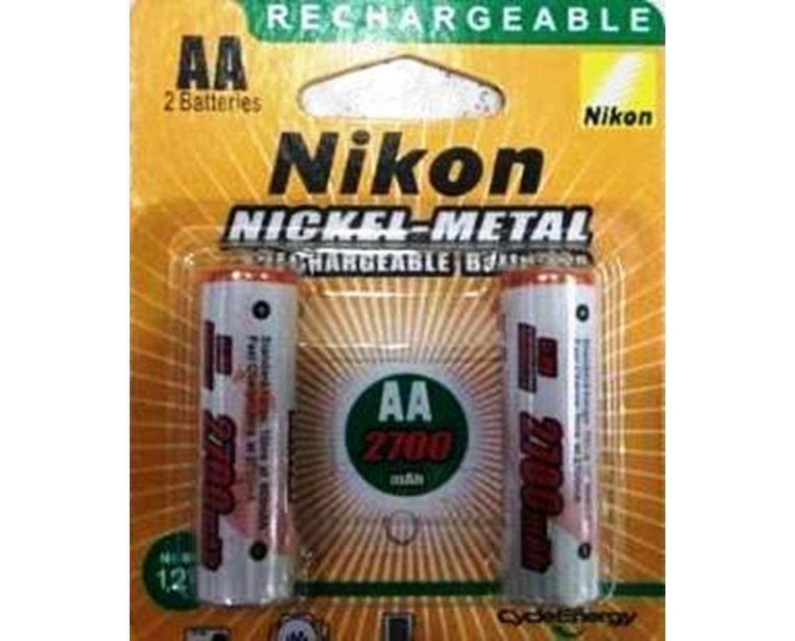Set of 4 Nikon rechargeable AA batteries for DTM-322/322+ Total Stations NIKHQH03020