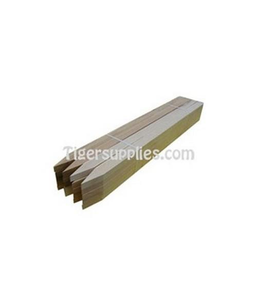 "Surveying Wooden Lathe  5/8 x 1 1/2 x 24"" (50/Bundle) NOT001"