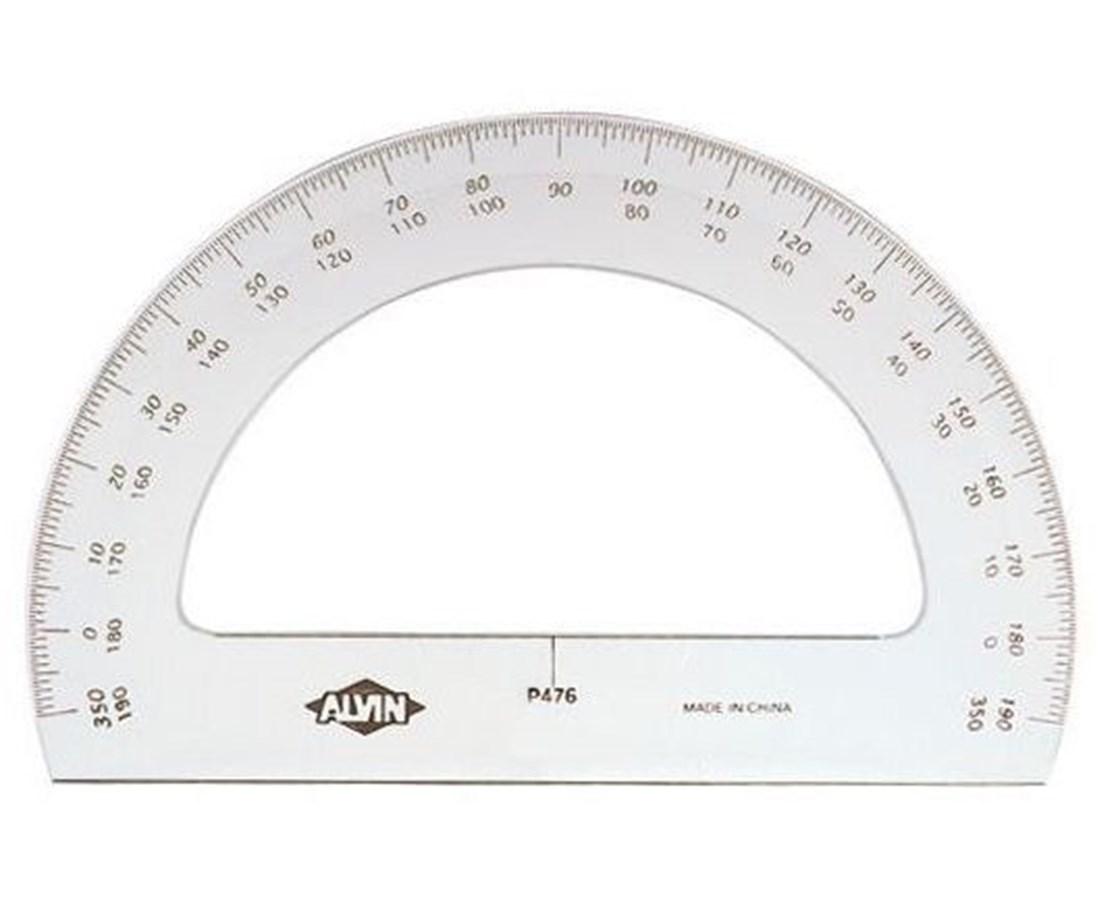 PROTRACTOR SEMI-CIRCLE P470