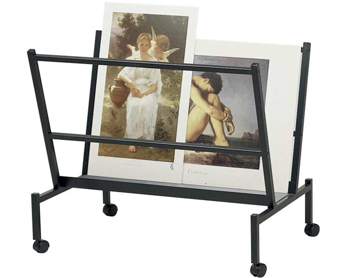"Large Printholder Black 38"" x 25"" x 32"" PHR100-BK"