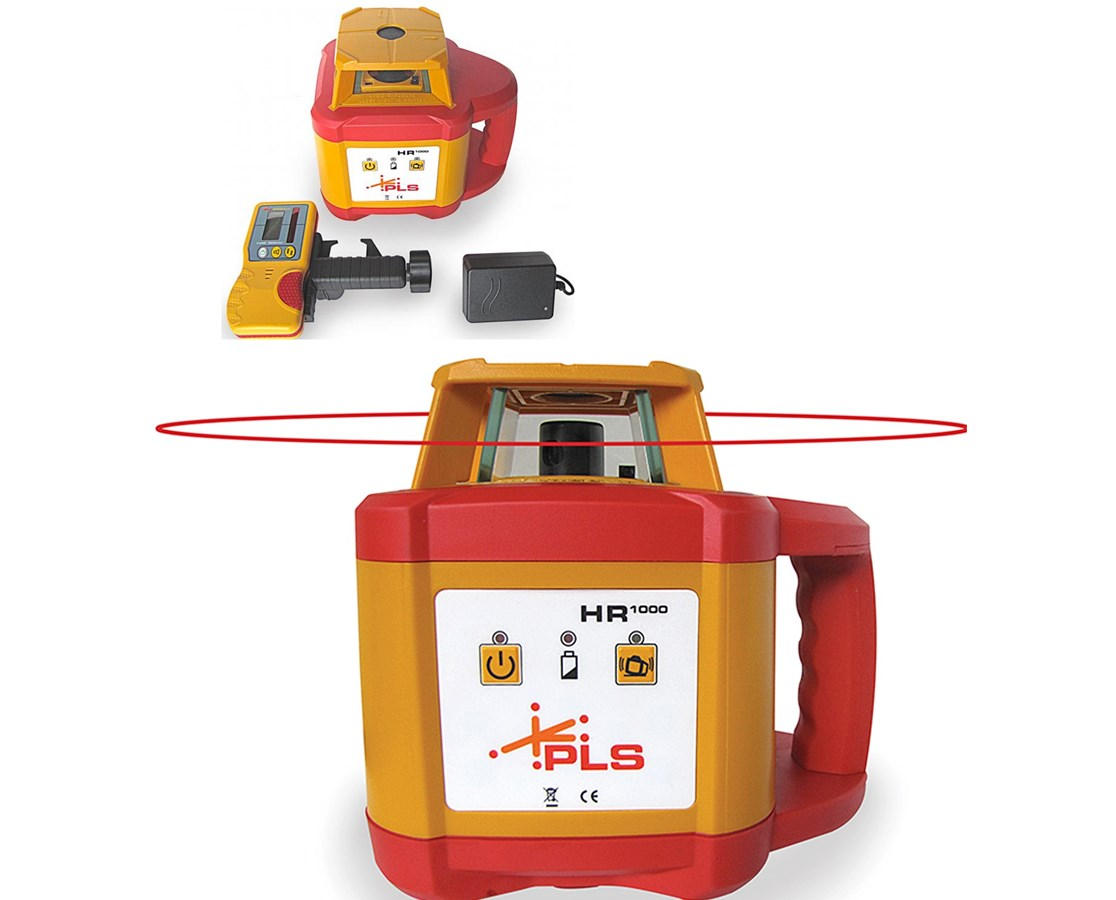 Pacific Laser Systems HR 1000 Rotary Laser Level 60584