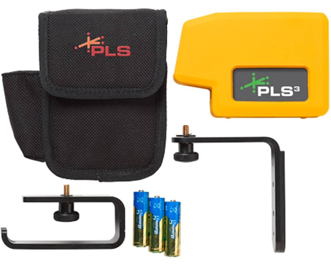 Pacific Laser Systems PLS3 G Point Laser Level PLS60595