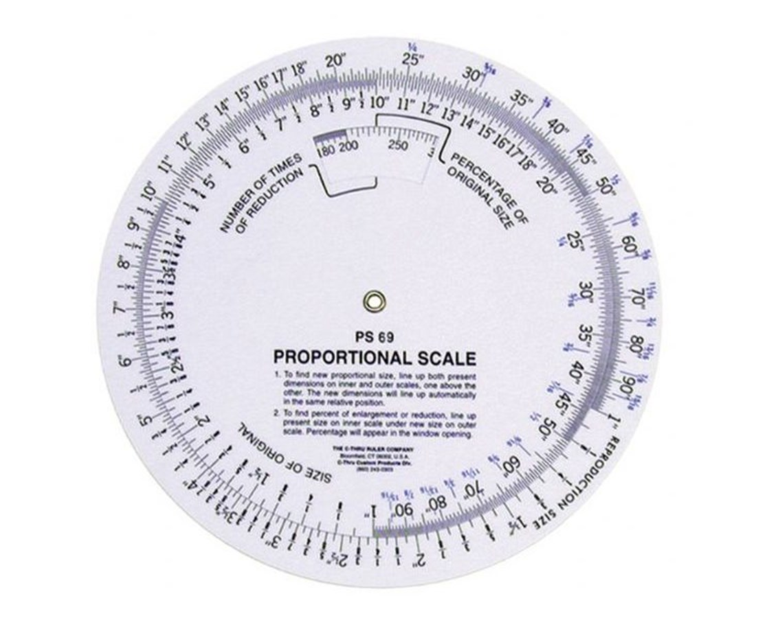 SLIDE RULE PROP SCALE PS690