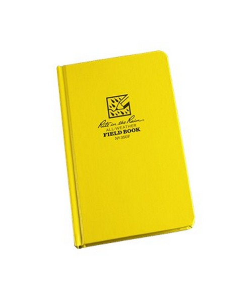 "All Weather Writing  Standard Bound Field Book (4¾"" x 7½"") Rit350F"
