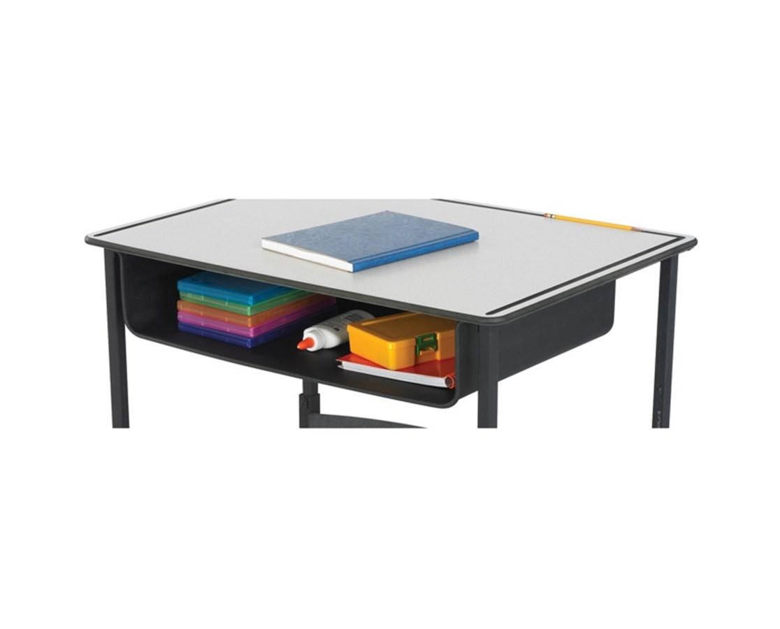 Safco AlphaBetter Steel Book Box SAF1212BL