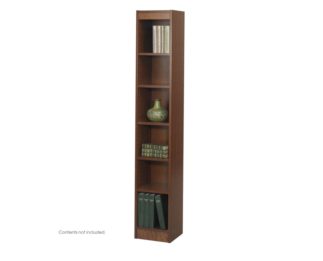 """SAFCO1511-6-Shelf Veneer Baby Bookcase, 12""""W SAF1511"""