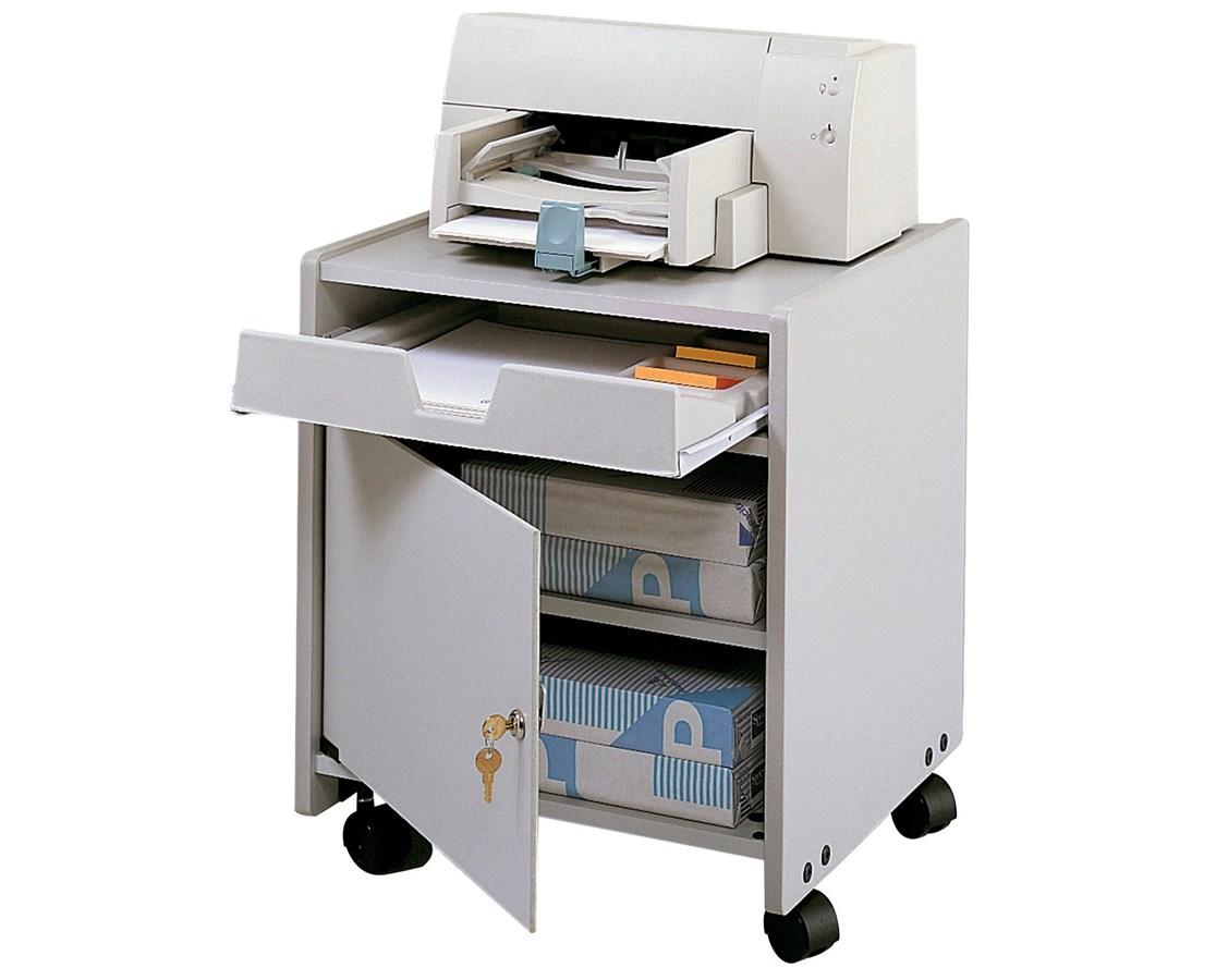 SAFCO1854GR-Machine Floor Stand Gray SAF1854GR