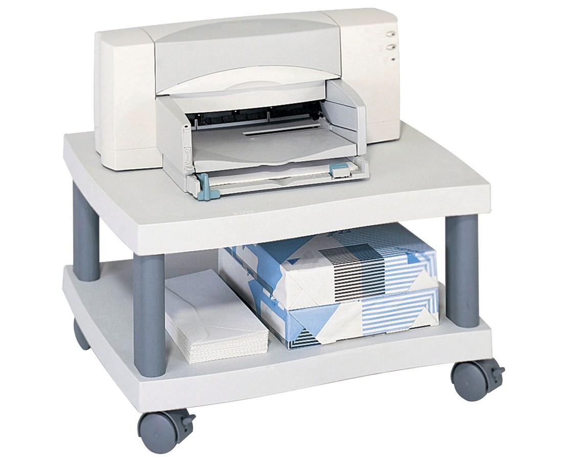SAFCO1861-Wave Under Desk Printer Stand Gray SAF1861