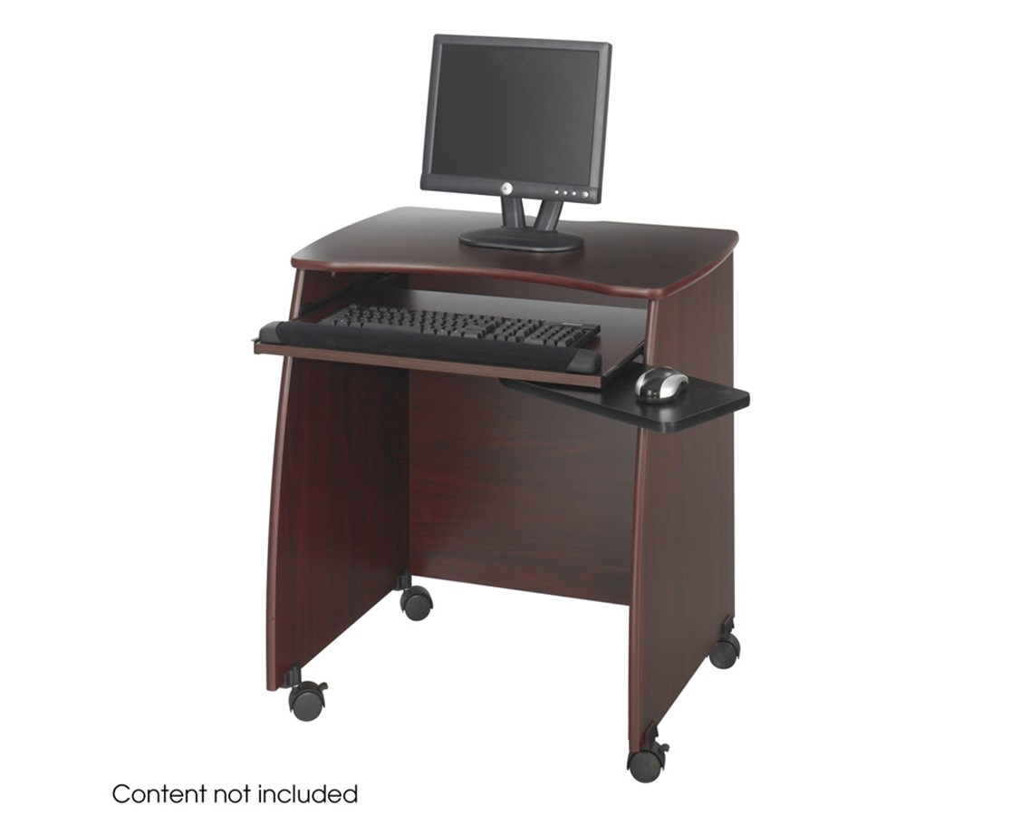 SAFCO1953MH-Picco™ Duo Workstation Mahogany SAF1953MH