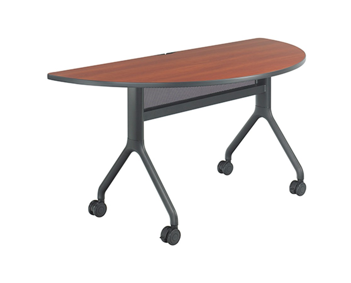 SAFCO2035-Rumba™ Series 2035 60x30 Half Round Table SAF2035