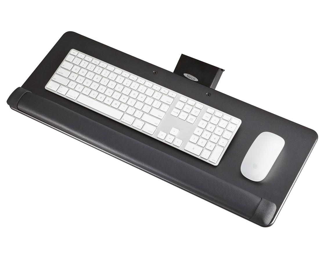 Safco Knob-Adjust Keyboard Platform SAF2133BL