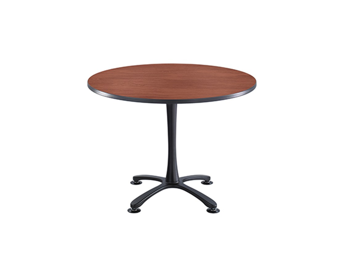 "SAFCO Cha-Cha™ 42"" Round Table, X-Base Sitting Height SAF2474"