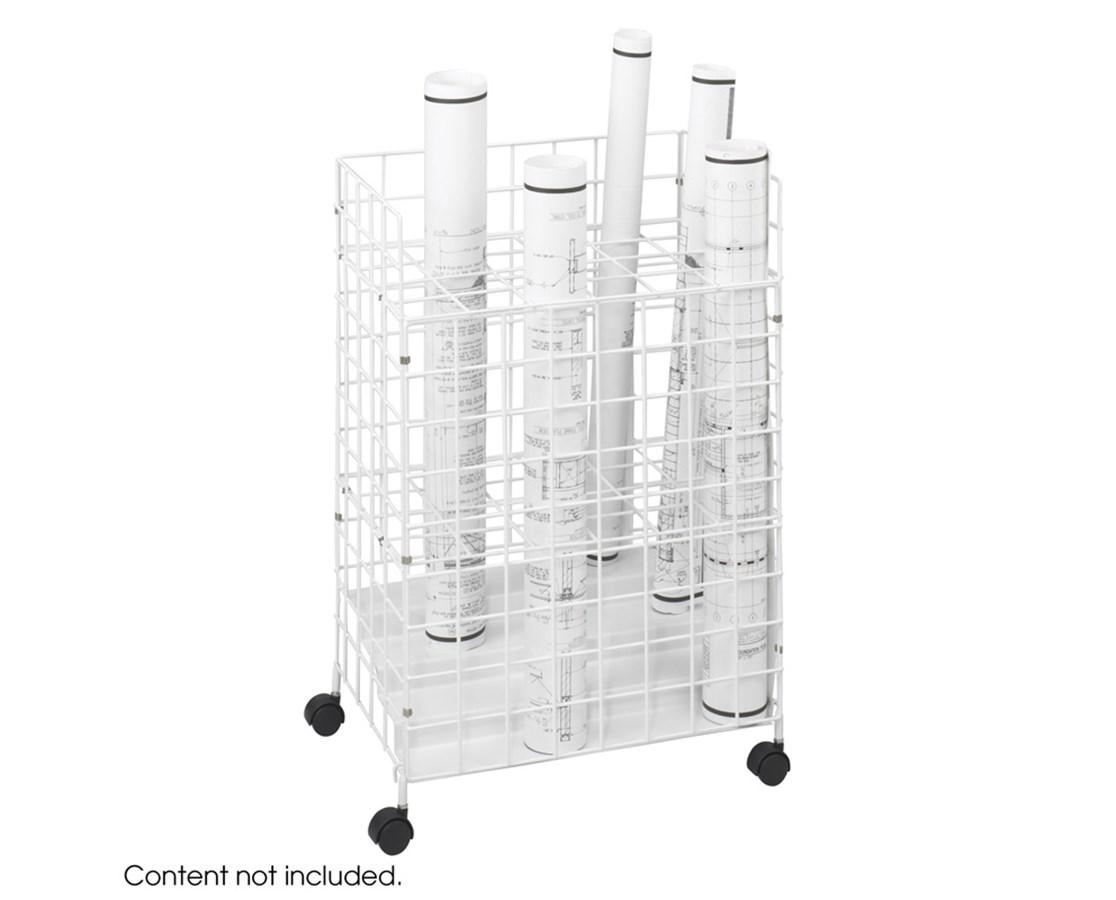Safco Wire Roll File 24 Compartment 3088