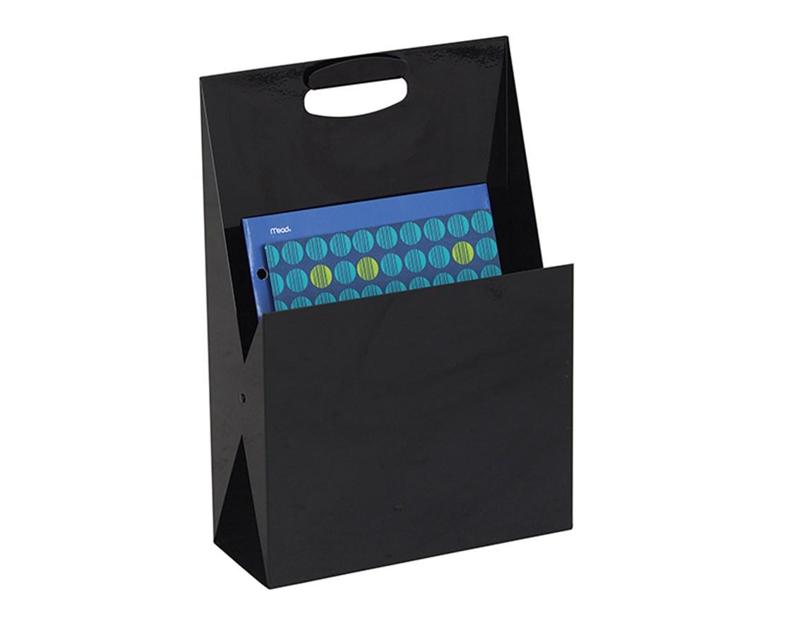 Safco Portable Steel File Tote & Desktop Organizer SAF3160BL-