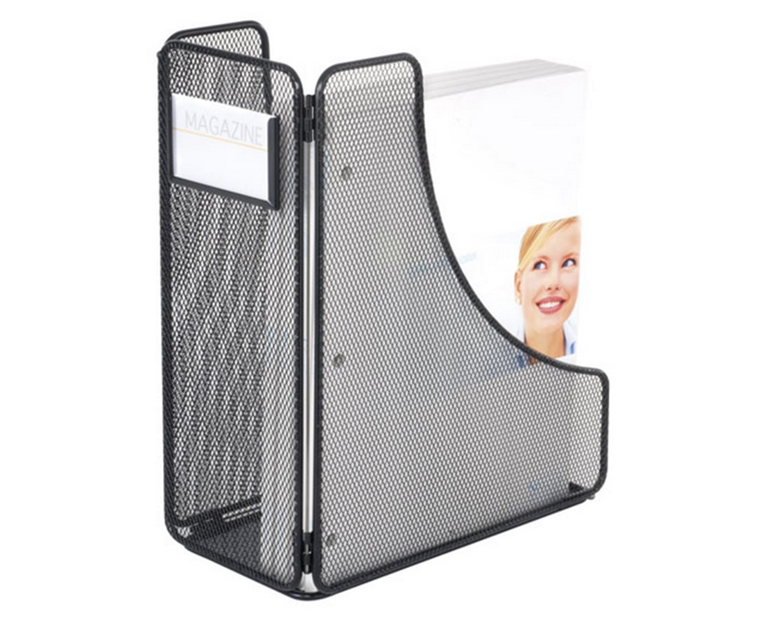 SAFCO Onyx™ Magazine Holder Black SAF3270BL