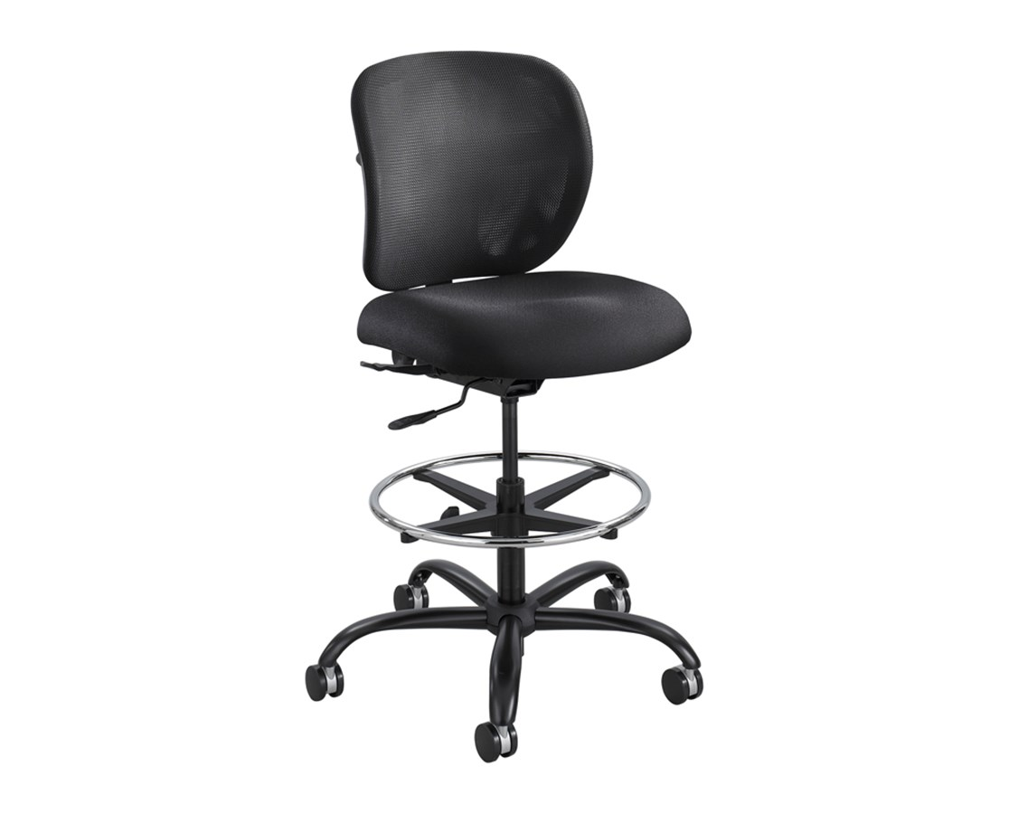 Safco Vue Heavy Duty Drafting Stool 3394BL