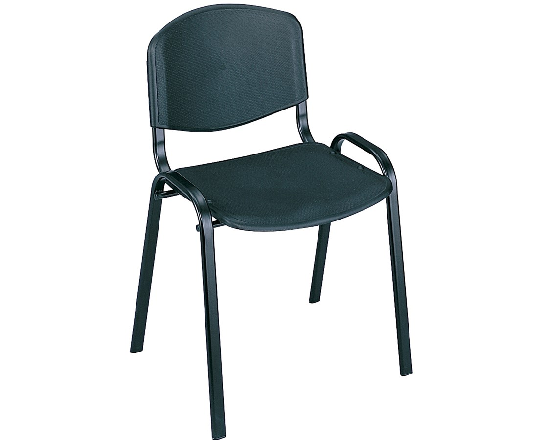 Safco Stack Chairs (Qty. 4) SAF4185BG-
