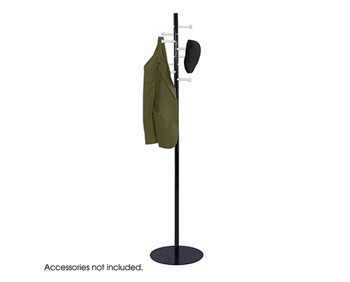 SAFCO4191NC-Spiral Nail Head Costumer Black/Silver SAF4191NC