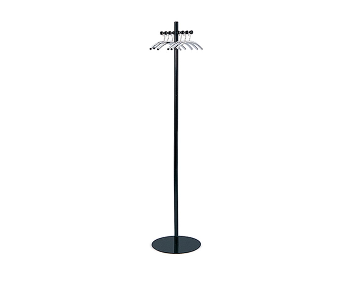 SAFCO4192NC-Nail Head Coat Tree Black/Silver SAF4192NC