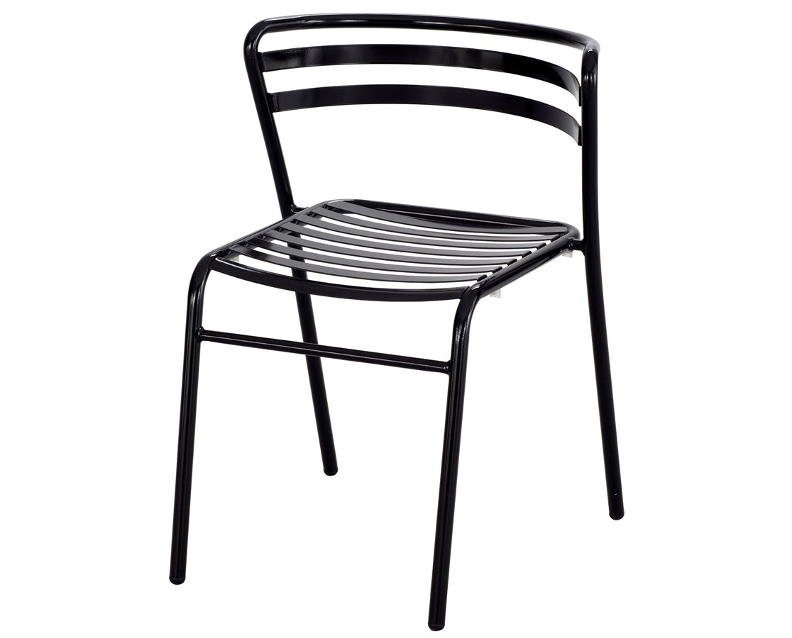 Safco CoGo Steel Outdoor/Indoor Stack Chair (Qty. 2) SAF4360BU-